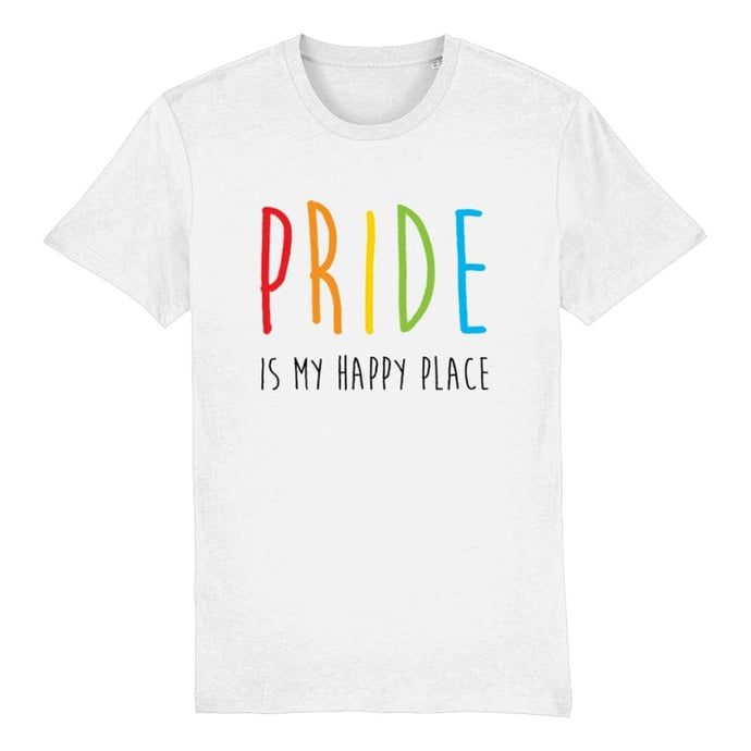 Pride is My Happy Place T Shirt | Rainbow & Co