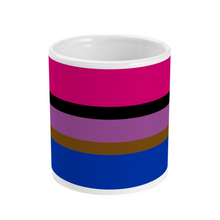 Load image into Gallery viewer, Inclusive Bisexual Flag Mug | Rainbow & Co