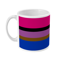 Load image into Gallery viewer, Inclusive Bisexual Flag Coffee Mug | Rainbow & Co