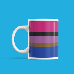 Inclusive Bisexual Pride Mug | Rainbow & Co