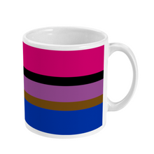 Load image into Gallery viewer, Inclusive Bisexual Mug | Rainbow & Co