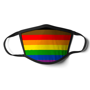 Philly Pride Flag Face Mask | Philly Pride Flag Mask | Rainbow & Co