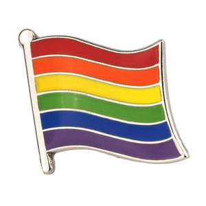 Gay Pride Flag Pin | Rainbow & Co