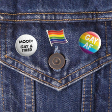 Load image into Gallery viewer, Gay Pride Flag Pin | Rainbow & Co