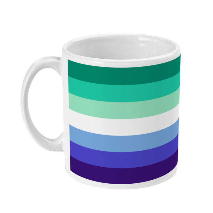 MLM Gay Male Flag Coffee Mug | Rainbow & Co