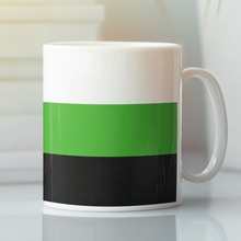 Load image into Gallery viewer, Neutrois Pride Flag Mug | Rainbow & Co