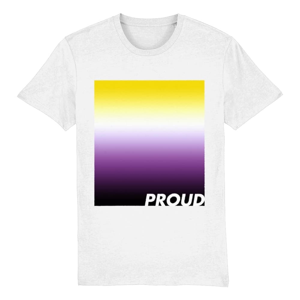 Non Binary Pride T Shirt | Non Binary Flag Shirt | Rainbow & Co