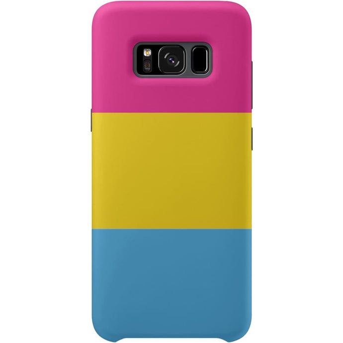 **Seconds** Pansexual Flag Samsung Galaxy S8 Phone Case | Rainbow & Co