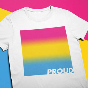 Proud Pansexual T Shirt | Rainbow & Co