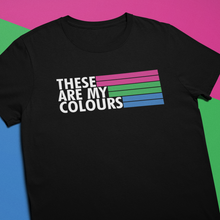 Load image into Gallery viewer, Polysexual Pride Flag Shirt | Rainbow & Co