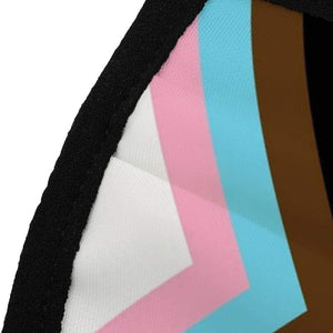 Pride Flag Mask | Close Up | Rainbow & Co
