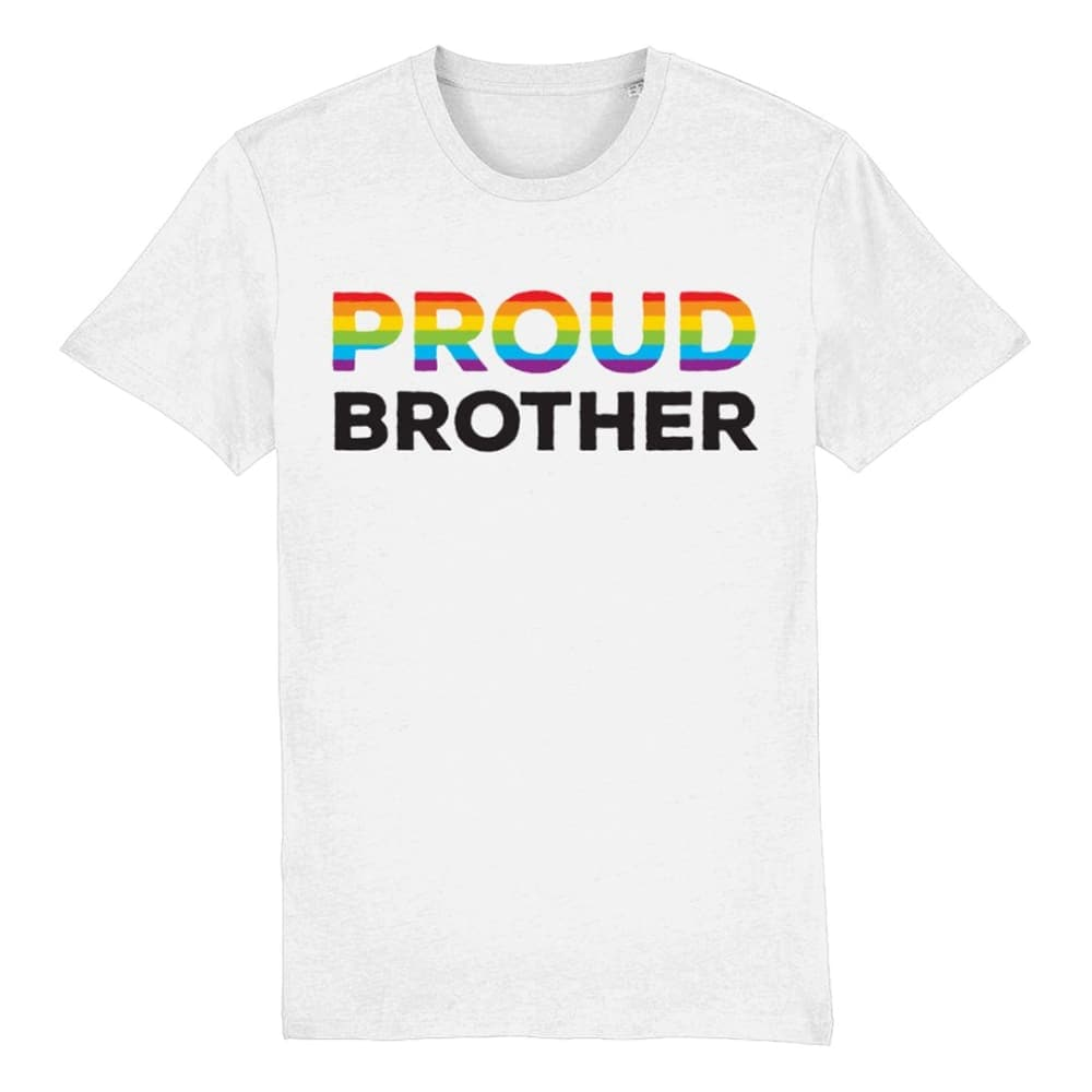 Proud Brother Pride T Shirt | Rainbow & Co
