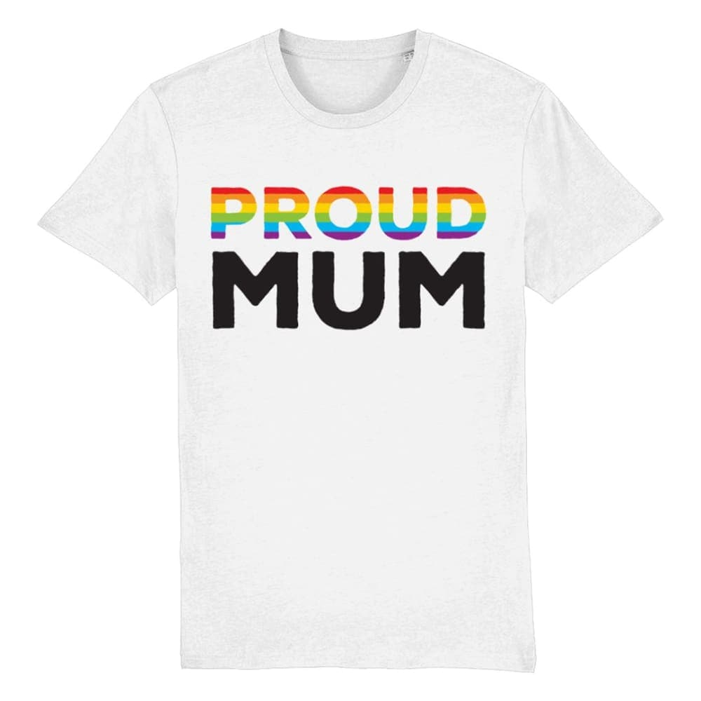 Proud Mum Pride T Shirt | Rainbow & Co