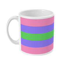 Load image into Gallery viewer, Trigender Flag Coffee Mug | Rainbow & Co