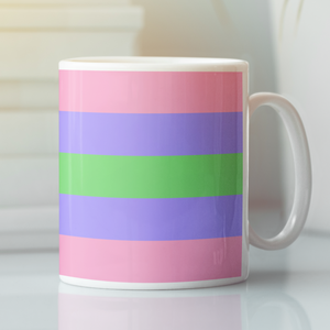 Trigender Pride Flag Mug | Rainbow & Co