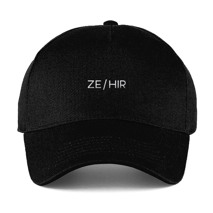 Ze Hir Baseball Cap | Black | Rainbow & Co