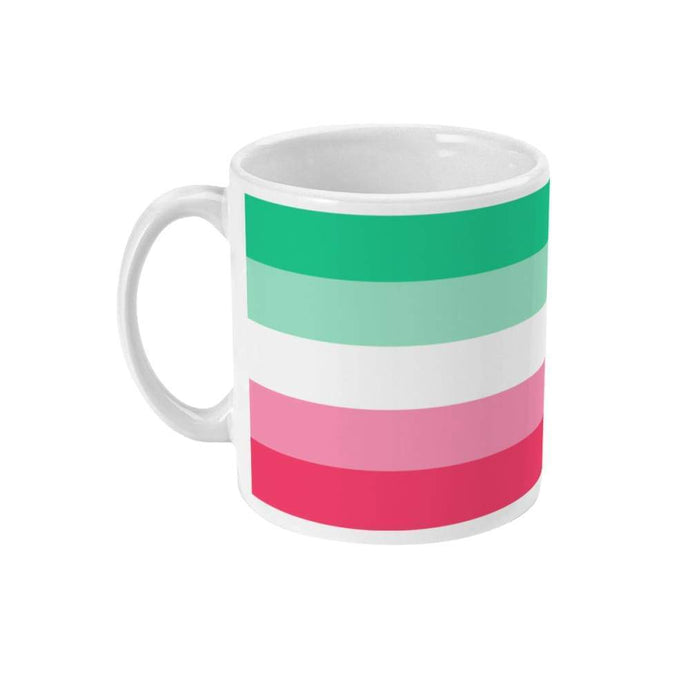 Abrosexual Pride Flag Coffee Mug | Rainbow & Co