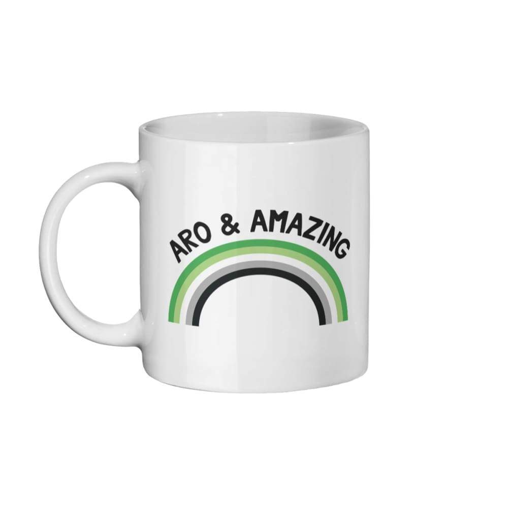 Aro & Amazing Coffee Mug | Rainbow & Co
