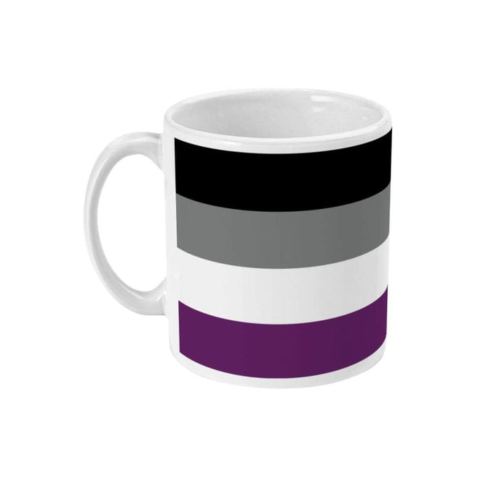 Asexual Pride Flag Coffee Mug | Rainbow & Co