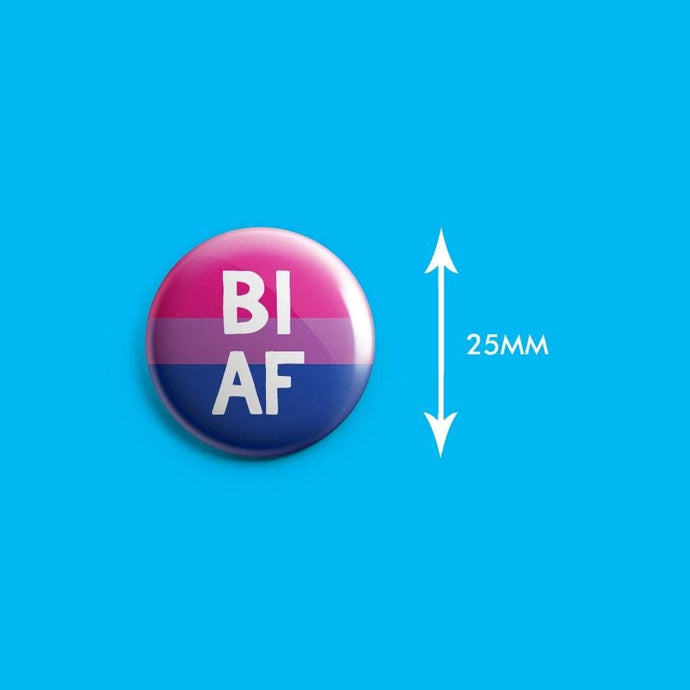 Bi AF Badge | Rainbow & Co