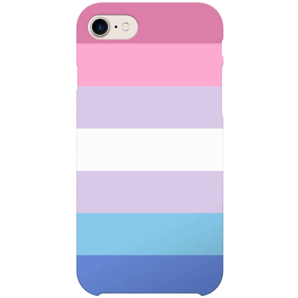 Bigender Flag Phone Case | iPhone 7 | Rainbow & Co