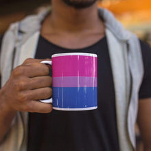 Load image into Gallery viewer, Bisexual Pride Flag Coffee Mug | Rainbow & Co