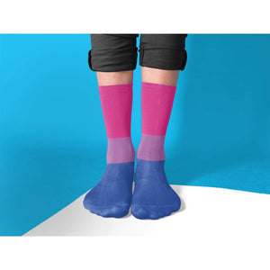 Bisexual Pride Flag Tube Socks | Rainbow & Co