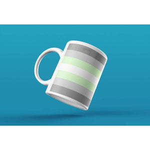 Demiandrogyne Pride Flag Coffee Mug | Rainbow & Co