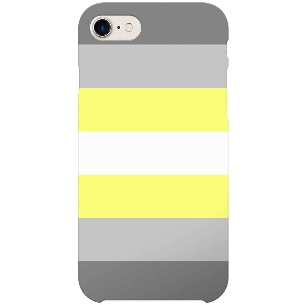 Demigender Flag Phone Case | iPhone 7 | Rainbow & Co