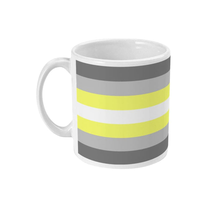 Demigender Pride Flag Coffee Mug | Rainbow & Co
