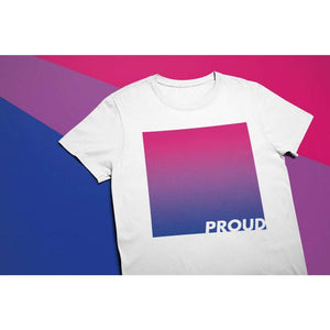 Proud Bisexual T Shirt | Rainbow & Co
