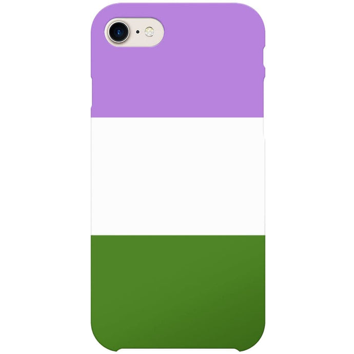 Genderqueer Flag Phone Case | iPhone 7 | Rainbow & Co