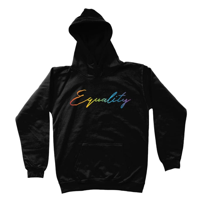 Kids Equality Rainbow Hoodie | Rainbow & Co