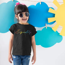 Load image into Gallery viewer, Kids Equality Rainbow T Shirt | Rainbow & Co