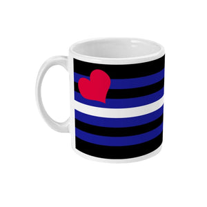 Leather Pride Flag Coffee Mug | Rainbow & Co