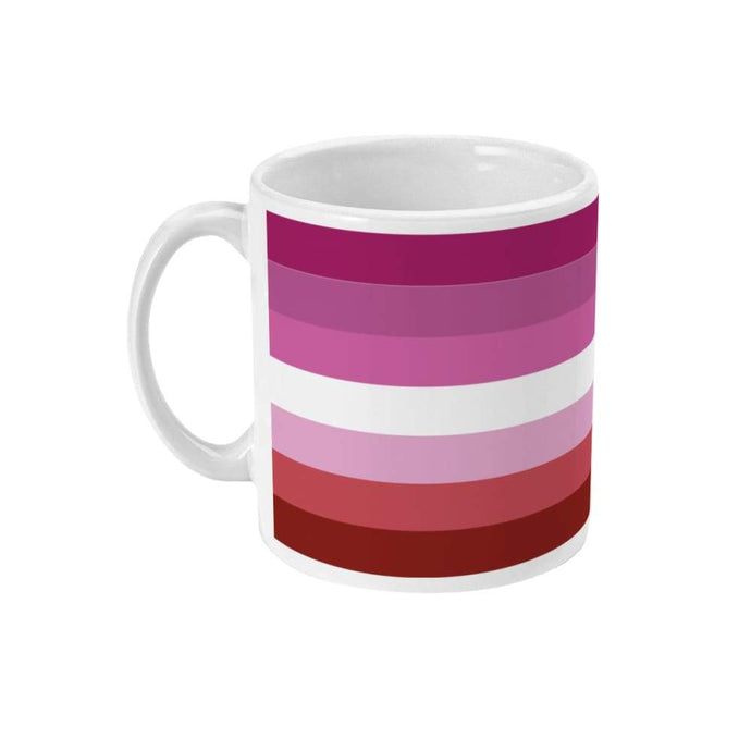 Lesbian Pride Flag Coffee Mug | Rainbow & Co