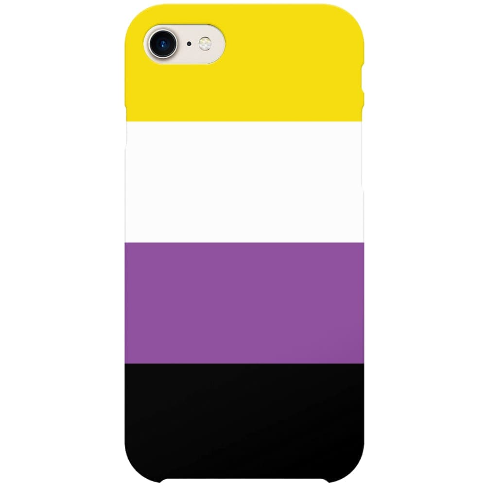 Non Binary Flag Phone Case | iPhone 7 | Rainbow & Co