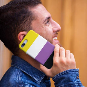 Non Binary Phone Case | Rainbow & Co