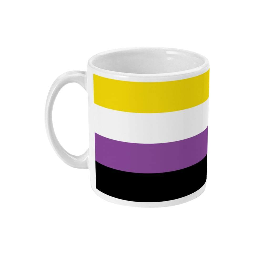 Non Binary Pride Flag Coffee Mug | Rainbow & Co