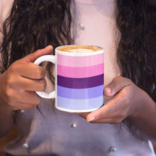 Load image into Gallery viewer, Omnisexual Pride Flag Coffee Mug | Rainbow & Co