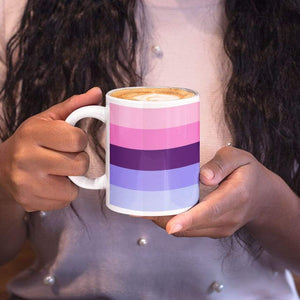 Omnisexual Pride Flag Coffee Mug | Rainbow & Co