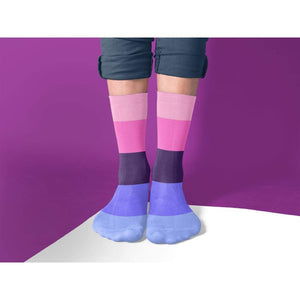 Omnisexual Pride Flag Tube Socks | Rainbow & Co
