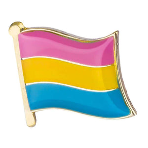 Pansexual Flag Pin | Rainbow & Co