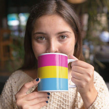 Load image into Gallery viewer, Pansexual Pride Flag Coffee Mug | Rainbow & Co
