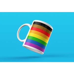 Philly Gay Pride Flag Coffee Mug | Rainbow & Co