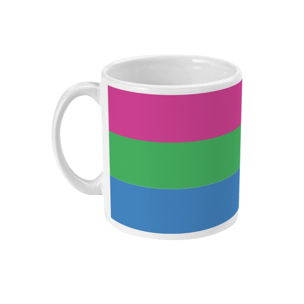 Polysexual Pride Flag Coffee Mug | Rainbow & Co