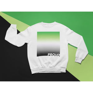 Proud Aromantic Sweatshirt | Rainbow & Co