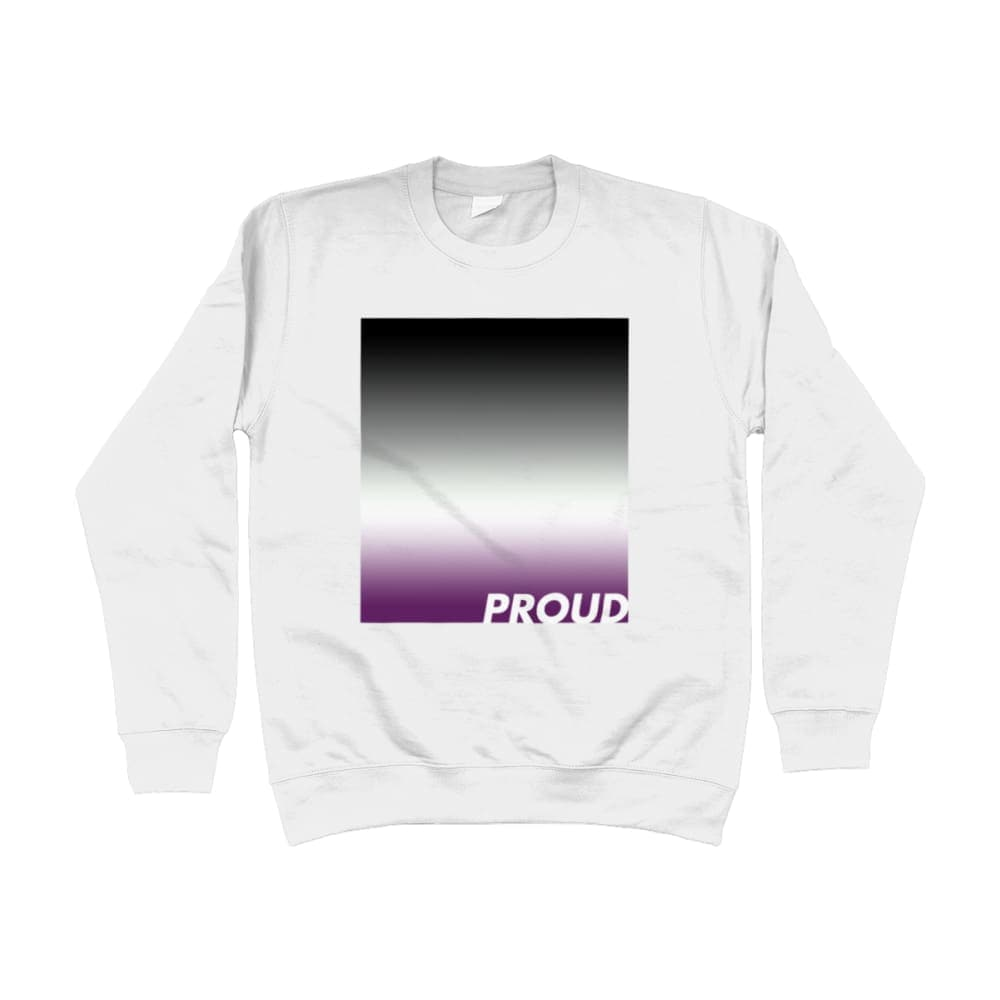 Proud Asexual Sweatshirt | Rainbow & Co