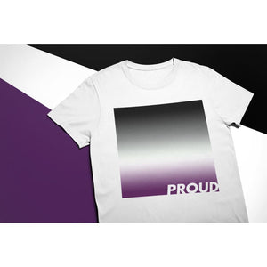 Proud Asexual T Shirt | Rainbow & Co