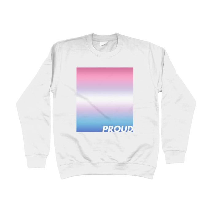 Proud Bigender Sweatshirt | Rainbow & Co